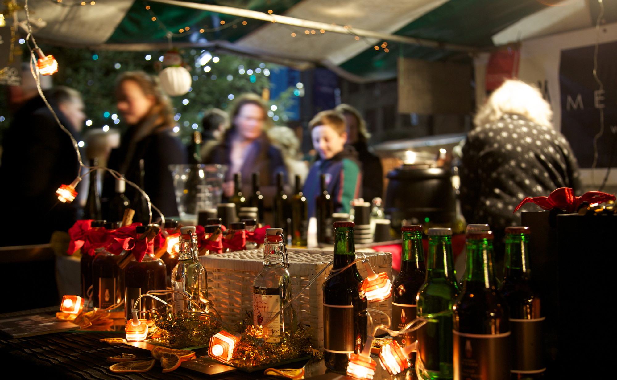 Southbank Centre Christmas market stall