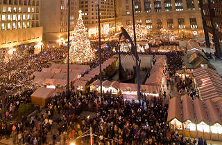 Christkindlmarket at Daley Plaza is a top holiday market.