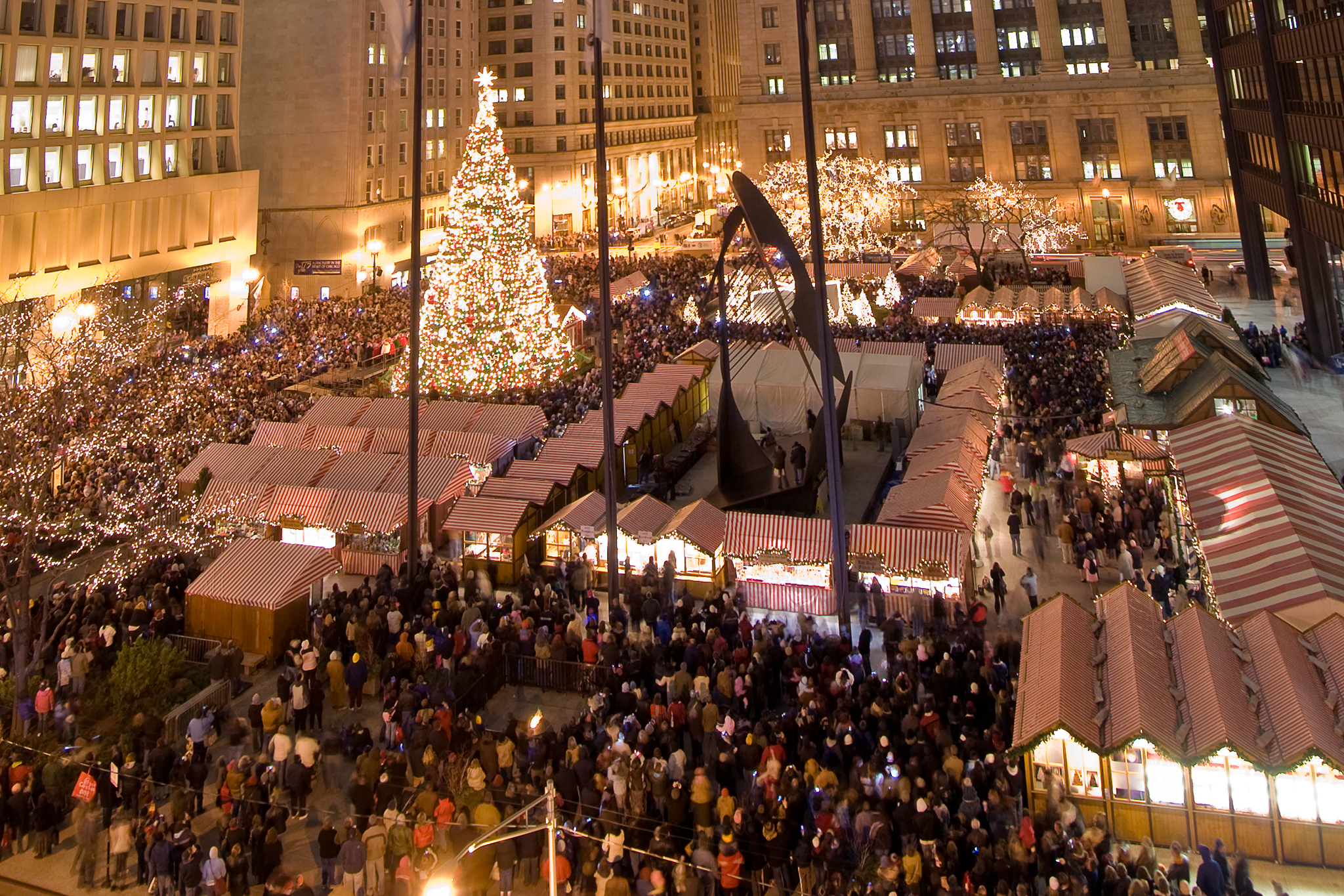 Image result for chicago christmas