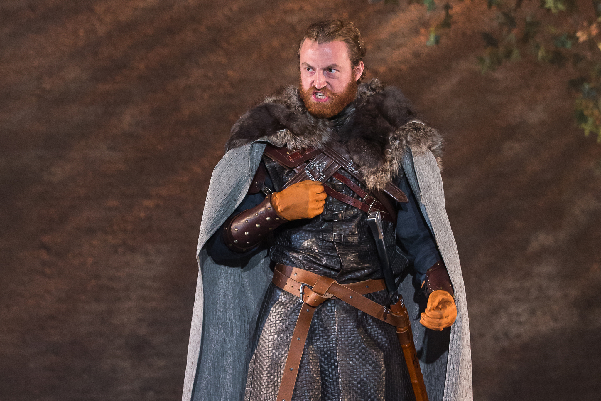 Travis Taylor in Camelot at Drury Lane Theatre
