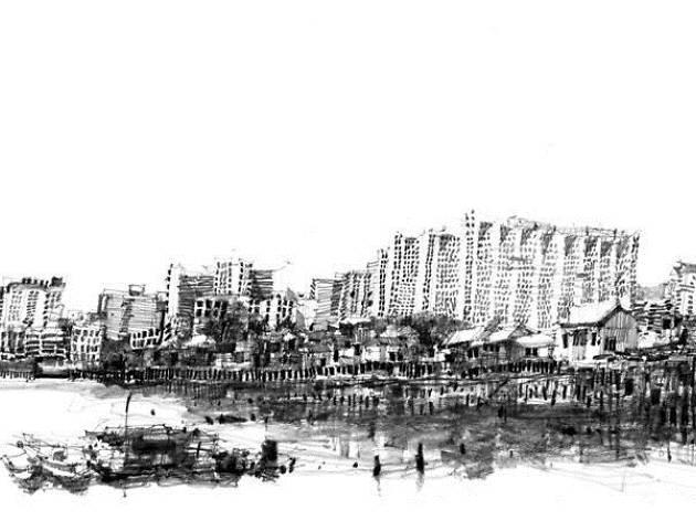 Sketching Penang By Ch'ng Kiah Kiean