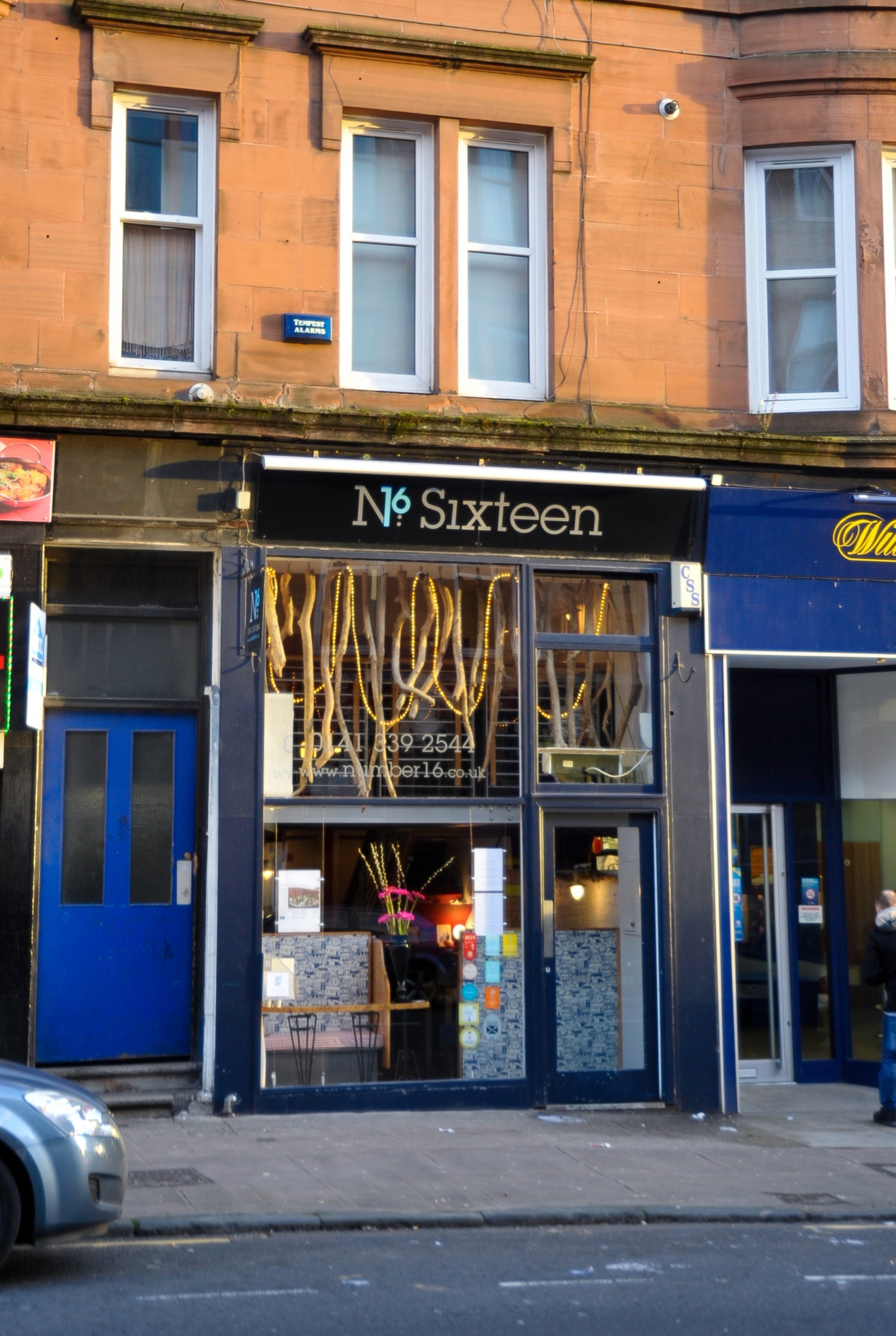 Number 16, Restaurants, Glasgow