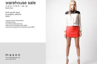 Mason Warehouse Sale
