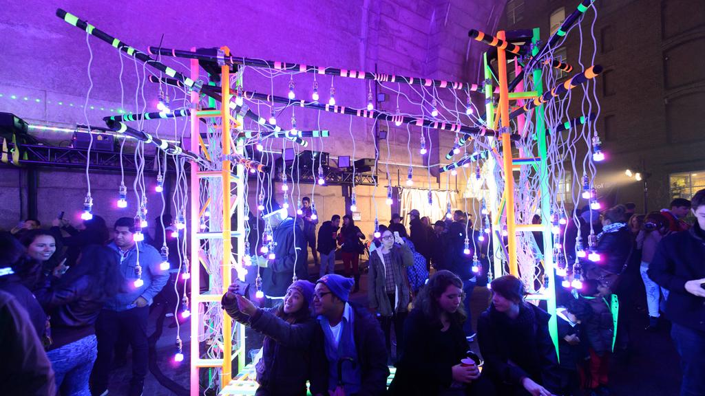 New York's first Festival of Light