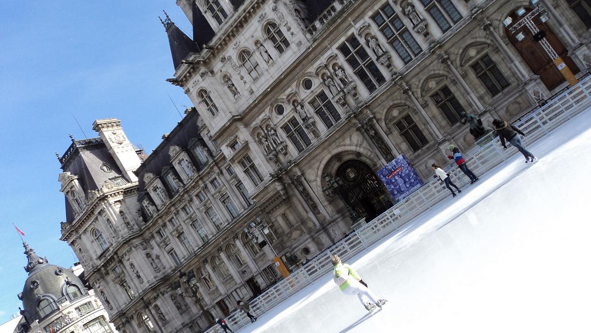Nos patinoires préférées à Paris