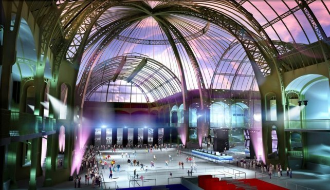 Patinoire du Grand Palais