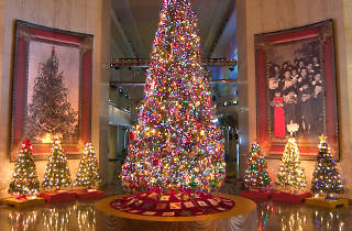 """""""Christmas Around the World"""" at the Museum of Science and Industry is one of the best Christmas activities for kids."""