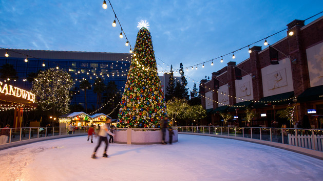 Downtown Disney Winter Village
