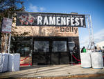 Chicago chefs battle it out at the inaugural Ramenfest at bellyQ, November 8, 2014.