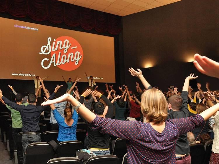 Sing-Along: Cine y Karaoke en el Aribau Multicines