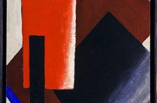 Lyubov Popova ('Painterly Architectonic', 1916)