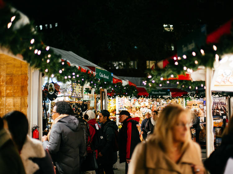 The best holiday markets NYC has to offer