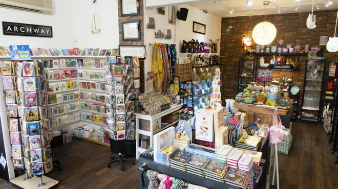 MAP Gift Shop-93 Junction Road, Archway, London