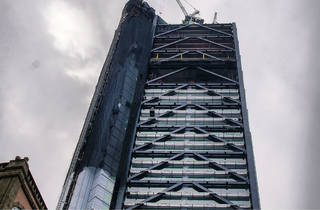 Torre Ejecutiva BBVA Bancomer (Foto: Dolores Robles)