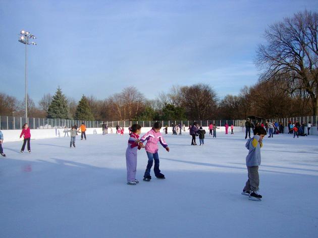 Ice Skating at Warren Park