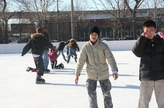 Ice Skating at McKinley Park