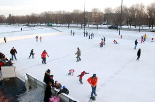 Ice Skating at Midway Plaisance Park