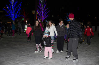 Ice Skating at Mt. Greenwood Park