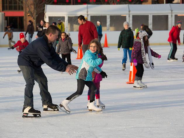 Ice Skating at Rowan Park