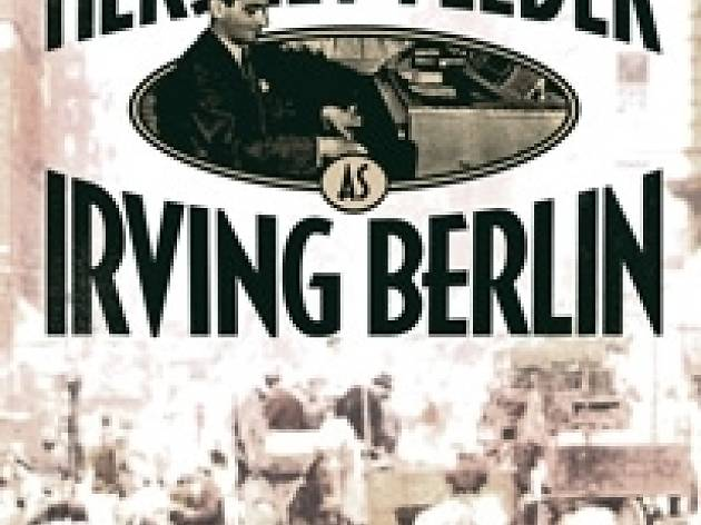"""""""Hershey Felder as Irving Berlin"""" at the Geffen Playhouse in Westwood Village."""