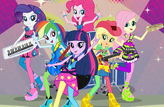 My Little Pony Equestria Girls-Rainbow Rocks