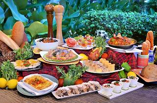Mediterranenan Buffet at Shangri-La Golden Sands