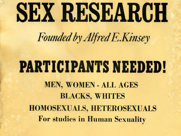 (Advertisement for the Institute of Sex Research © The Kinsey Institute)