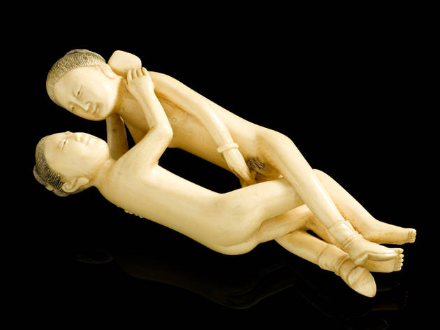 (Carved ivory statue, in the form of a copulating man and woman, Far Eastern © Science Museum, London)