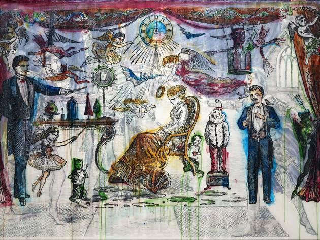 Sigmar Polke ('The Illusionist', 2007)