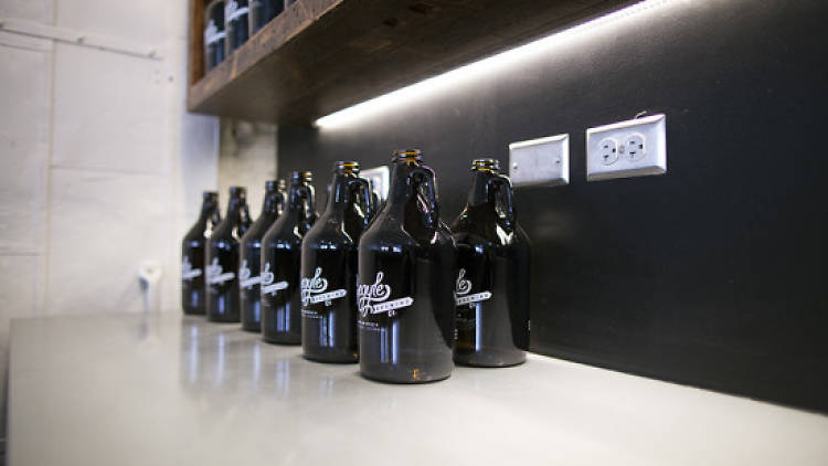 Begyle will fill growlers in its taproom.