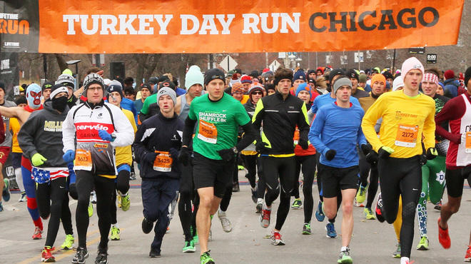 Turkey Trots in Chicago