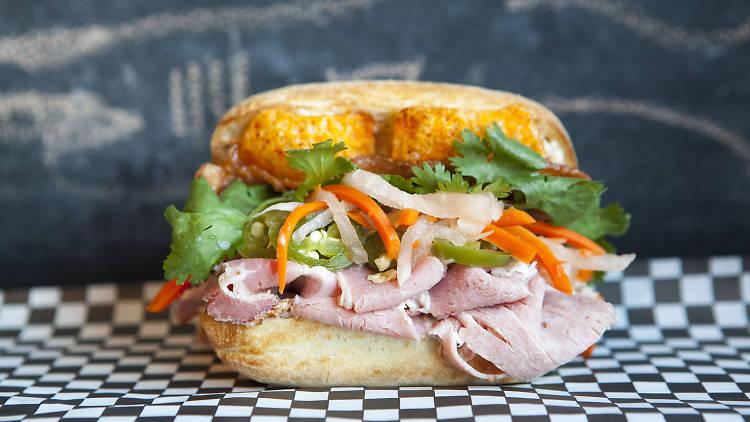 Banh mi at Sack Sandwiches