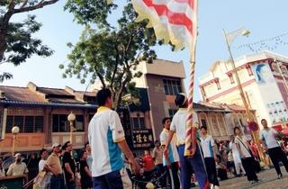 Pesta Chingay, Lion & Dragon Dance Parade