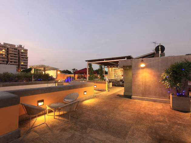 Cloud Café is a great place to relax in Colombo Courtyard