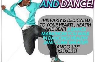 Dance Marathon at Django Bar, Rockstone's Office, Accra, Ghana