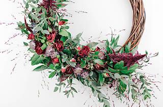 Columbia Creative Christmas wreath