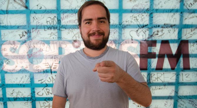 """Francisco Alanís """"Sopitas"""", exlocutor de Reactor 105.7 y El Resplandor 90.9"""