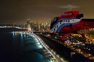 Chicago Helicopter Experience's Holiday Lights Tours