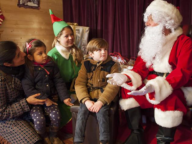 Must-visit Santa's grottos