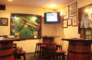 Cricket Club Café is a restaurant in Colombo