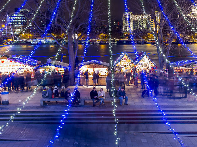 Wintertime at Southbank Centre