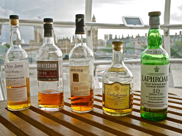 The London Eye Whisky Tasting Experience
