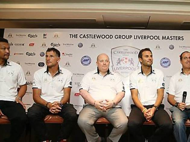 Castlewood Group Liverpool  Masters -  Liverpool Legends vs Singapore Ex-internationals
