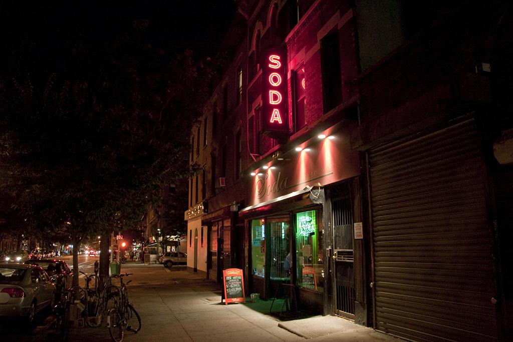 Soda Bar, stores