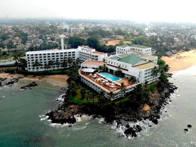 Mount Lavinia Hotel is a hotel in Colombo