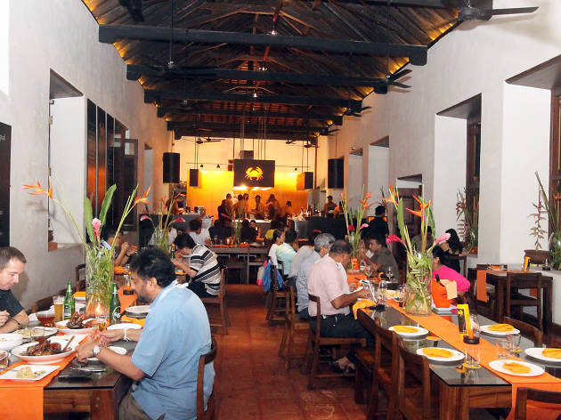Ministry of Crab is a restaurant in Colombo