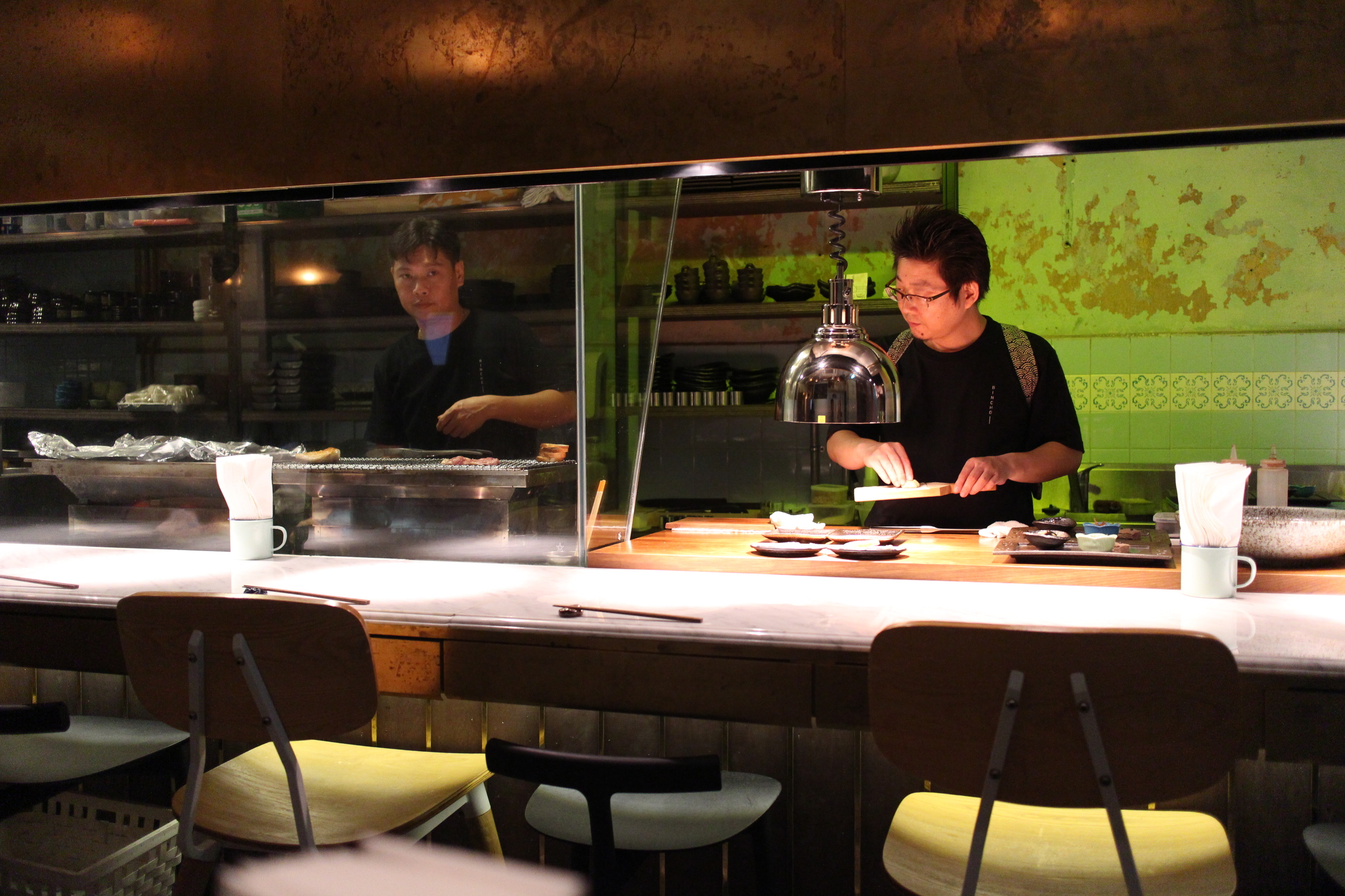 Reserve a seat for coffeeshop yakitori