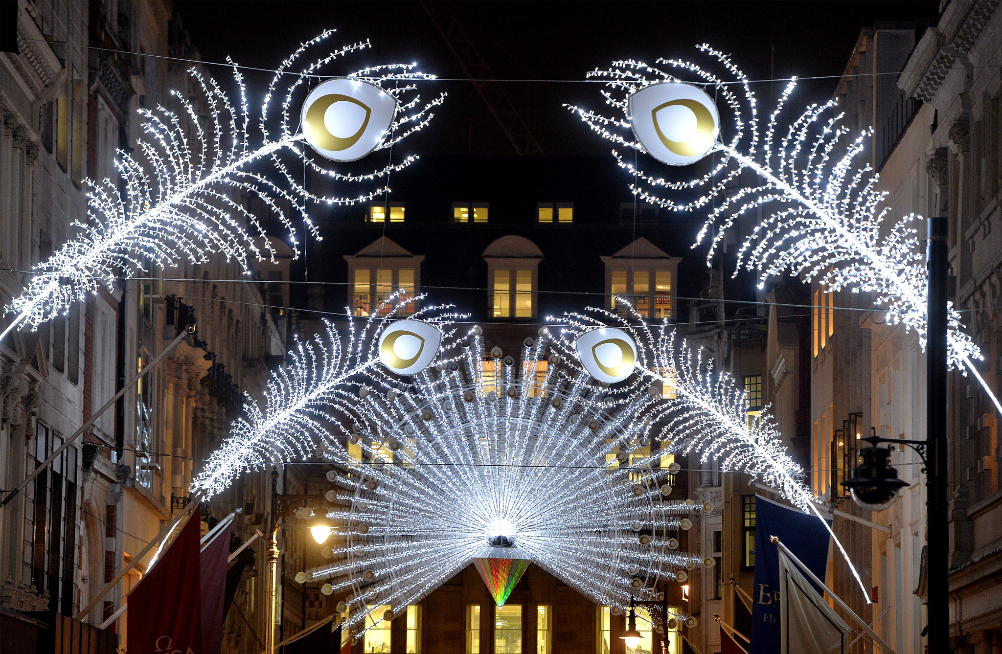 The best Christmas lights in London
