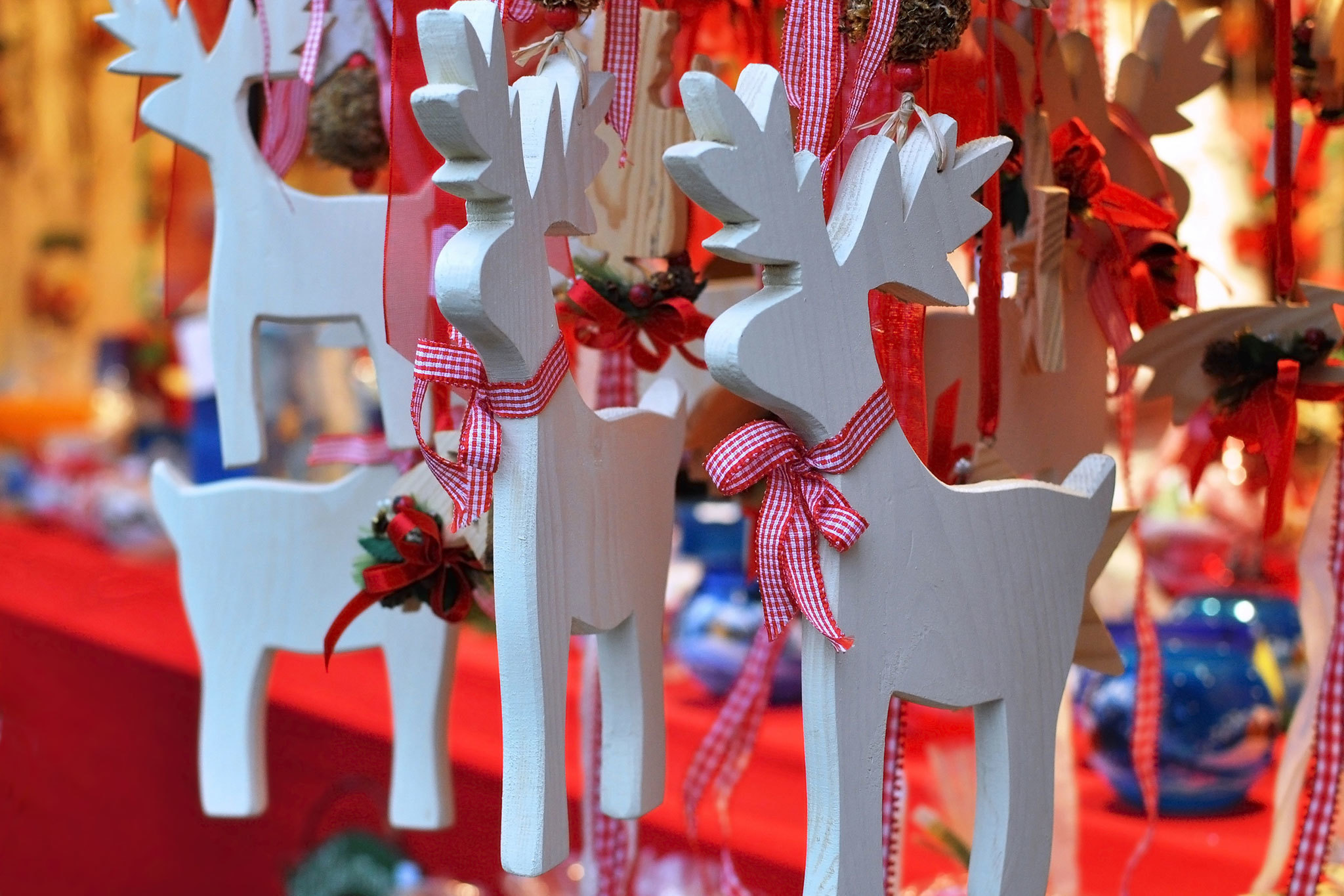 Holiday markets in San Francisco