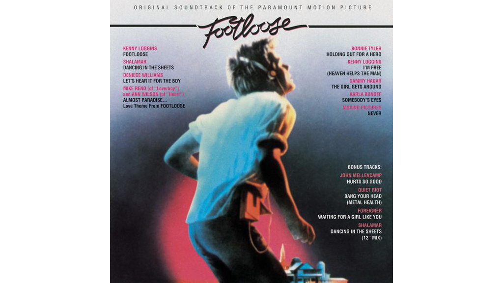 """Footloose"" by Kenny Loggins (Footloose, 1984)"